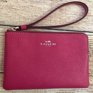 Coach Bags - BRAND NEW Pink Coach Wristlet